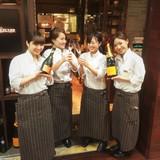 「BEER'S TABLE KELLER KELLER」関西テレビ「キャラぱら!」取材の様子